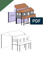 Desain Bangunan Lab-gor