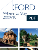 Oxford Where to Stay