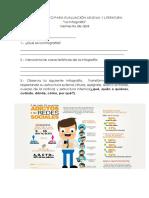 Guía de Apoyo Evaluación La Infografía