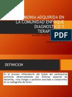 Neumonia Enfoque Diagnostico y Terapeutico