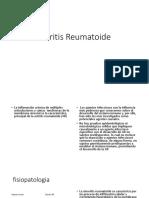 Artritis Reumatoide gota y fibromialgia , alumnos ,resumen corto Manual ser