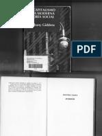 Antony Giddens. El Capitalismo y La Moderna Teoría Social