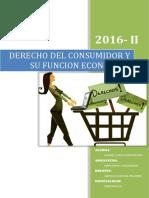 Derecho de consumidor y su función económica