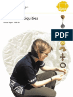 Portable Antiquities Annual Report 1998-99