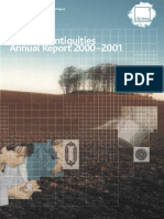 Portable Antiquities Annual Report 2000-2001