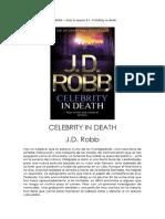J. D. Robb - Serie Ante La Muerte 43 - Celebrity In Death.pdf