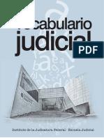 Vocabulario Judicial DE LA JUDICATURA