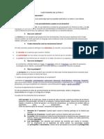 Cuestionario de Letras i1