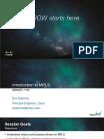 BRKMPL-1100 - Introduction to MPLS.pdf