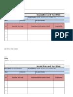 3.7 Formato de PI Prueba Hidostatica