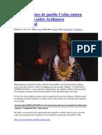 Representantes de Pueblo Cofán Emiten Comunicado Sobre Ayahuasca Internacional