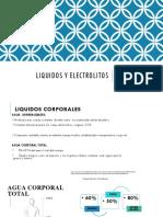 Liquidos Electrolitos y Nutrición Parenteral