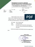 Undangan FTIK Kominfo Depok