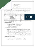 Resume Ujjayini