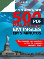 Como Aprender 500 Palavras Em Inglês Em 5 Minutos (1)