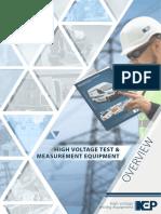 High Voltage Test Equipment