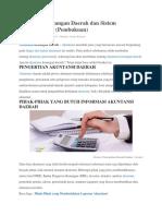 Akuntansi Keuangan Daerah Dan Sistem Pencatatannya 11Ak