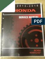 Honda CBR500-CB500F Non ABS-ABS 2013-2015 Service Manual.pdf