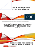 4. Introduccion y Conclusion