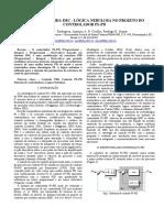 Sintonia Híbrida Imc e Lógica Nebulosa No Projeto Do Controlador PI-PD