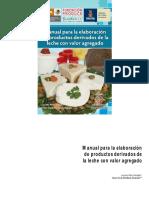 Manual para la elaboración de productos derivados de la leche con valor agregado 2011.pdf