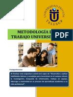 299212242 Metodologia Del Trabajo Universitario PDF