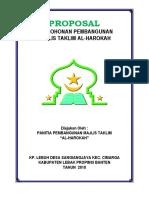 Proposal Pembangunan Majlis Taklim