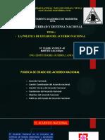 15 Clase Politica de Estado Acuerdo Nacional