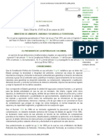 decreto 3990 2010