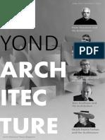 article beyond+architecture+magazine+