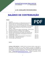 Prev-Apostila Previdenciario Sal Contribuicao