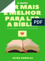 Ler Mais E Melhor Para Ler a Biblia