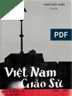 (1965) Việt Nam Giáo Sử 1533-1933 - Quyển 1 - Phan Phát Huồn