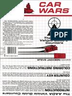 Car Wars - SJG - 7133 - Aada Vehicle Guide 2 Counters