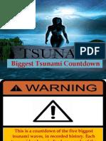 Tsunami Countdown