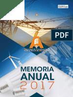 Memoria Autoridad de control y fiscalizacion de electricidad