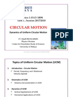 CIRCULAR MOTION Vertical Horizontal UCM AHJ July2017 StdntVer