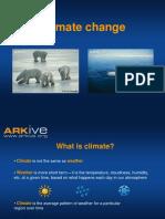 11-14yrs - Climate Change - Classroom Presentation
