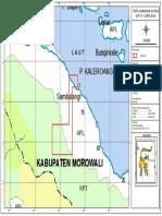 Peta Kawasan Hutan CV. Laris Dua