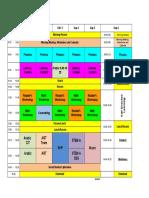 Kg2 B Schedule 2018-2019
