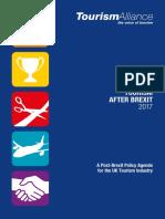 Tourism Alliance Tourism After Brexit