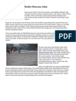 Tips Mengurangi Resiko Bencana Alam