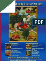Mongolian Buddhist Environment Poster