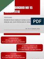 Permendikbud No 15 Tahun 2018