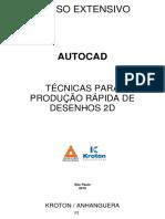 Autocad Tcnicasparaproduorpidadedesenho2d Rev01 161109235726