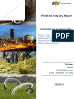 Fertilizer Market Report