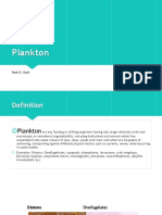 Plankton Ppt for Surigao