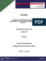 INFORME - Of. BBVA Continental Chiclayo - 12-04-17