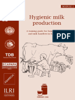 1. Hygienic Milk Production