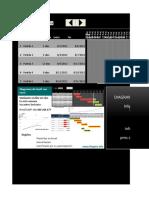 Ejemplo - Diagramas de Gantt Con Excel PMS